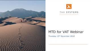 Making Tax Digital for VAT Compliance Webinar