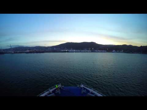 Interislander - Cook Strait in a minute timelapse - By Bare Kiwi