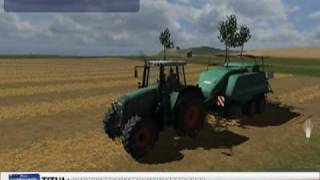 Landwirtschafts/Farming Simulator 2009 - gameplay! (PC)