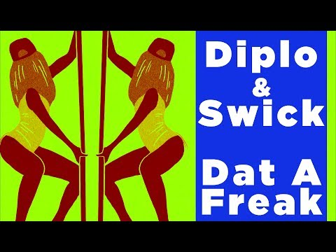 DIPLO AND SWICK - DAT A FREAK LOGO