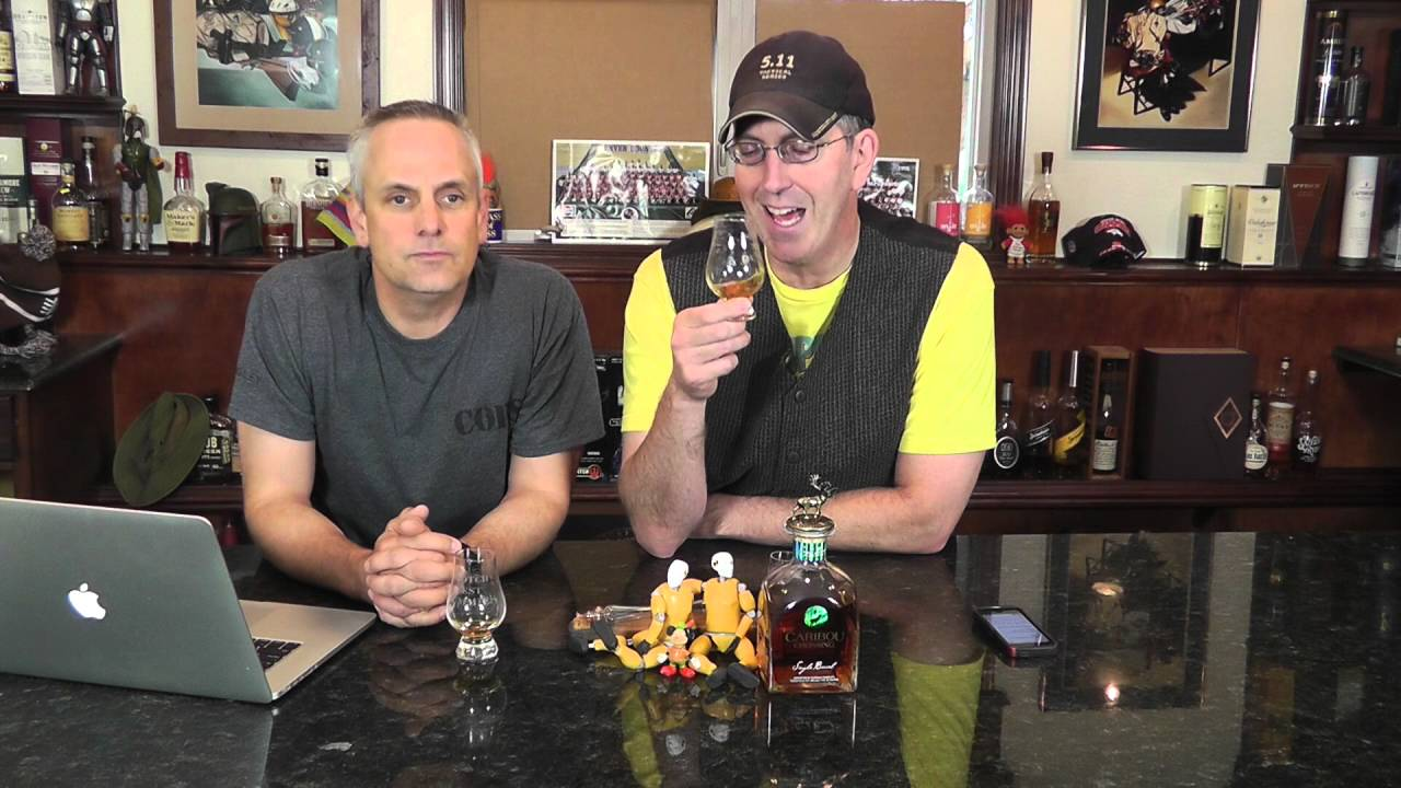 whisky review 183 caribou crossing canadian scotch test