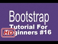 [Bootstrap Tutorial] Bootstrap Tutorial For Beginners 16 - Bootstrap Alerts and Wells