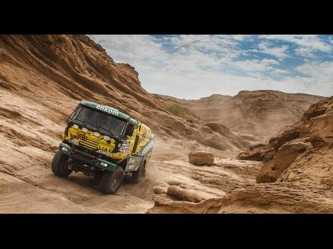 DAKAR 2014 - BEHIND the WALL
