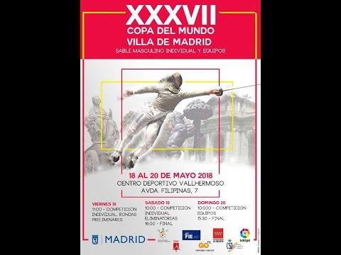 Madrid 2018 Men's Sabre World Cup - T64/T8