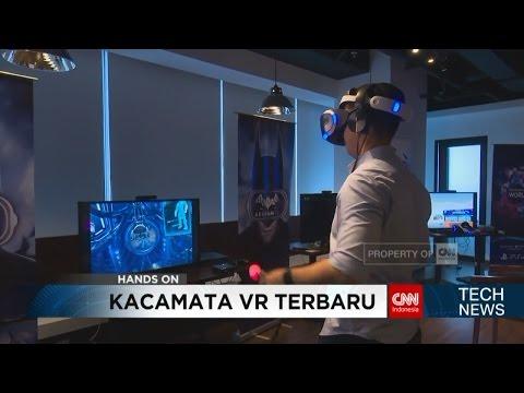 Tech News: Kacamata Virtual Reality Terbaru dari Playstation
