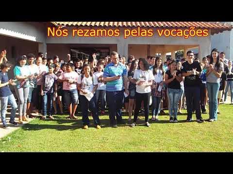 CATEQUISTAS E CATEQUIZANDOS GRAVAM VÍDEO SOBRE AS VOCAÇÕES