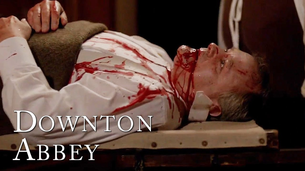 Download Robert's Ulcer Bursts! | Downton Abbey