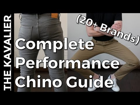 The Best Performance Chinos - Complete Guide (Everlane, Bonobos, Lululemon, Outlier++)