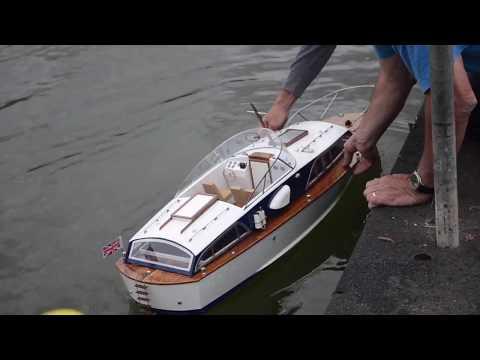 Fairey Huntsman RC Boat Hand Built