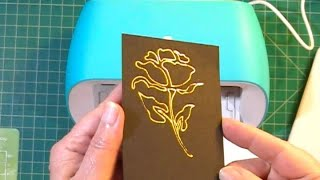Using WRMK Foil Quİll with Cricut Joy