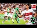Crazy Own Goal, Gomez Goal & Storm | VfB Stuttgart - Hannover 96 | 2-1 | Highlights