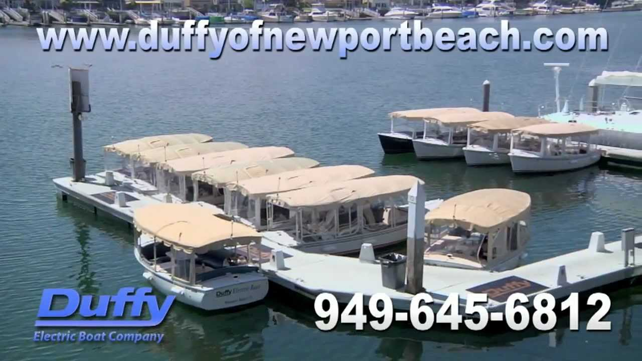Duffy Electric Boats of Newport Beach, CA - Boat Rentals