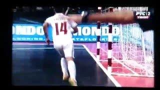 Gol Rajcevic - Serbia Vs. Portugal  -  UEFA Futsal EURO 2016 - 06.02.2016