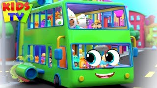Wheels on the Bus Nursery Rhyme + More Super Supremes Songs for Kids
