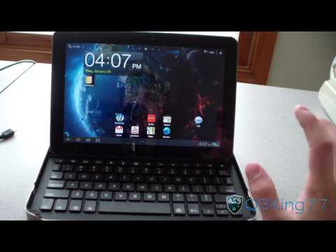 Logitech Keyboard Case Review for the Samsung Galaxy Tab 10.1