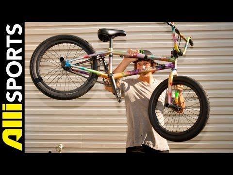 Scotty Cranmer's Multi-Colored Felt BMX Setup 2012, Alli Sports