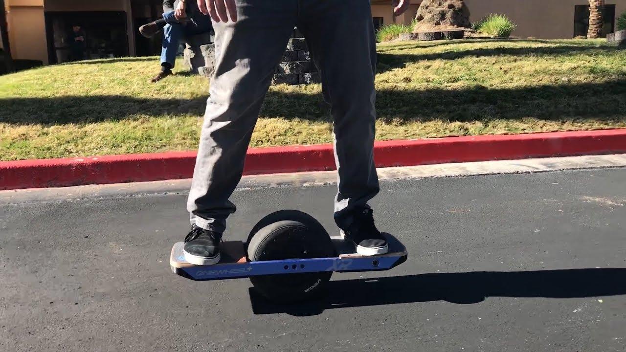 Cruisin' on the Onewheel+XR