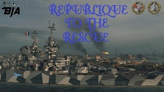 World of Warships-Republique To The Rescue