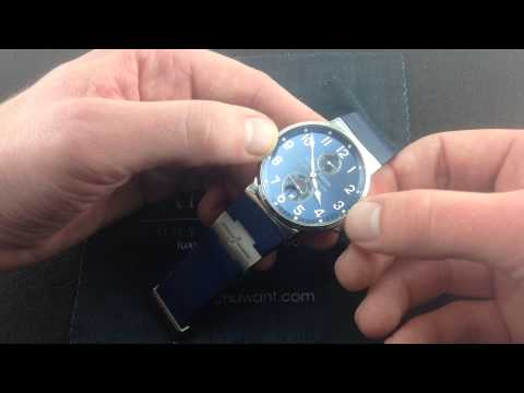 Ulysse Nardin Marine Chronometer Luxury Watch Review