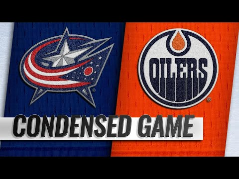 03/21/19 Condensed Game: Blue Jackets @ Oilers