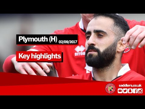 MATCH HIGHLIGHTS | Walsall 2-1 Plymouth Argyle