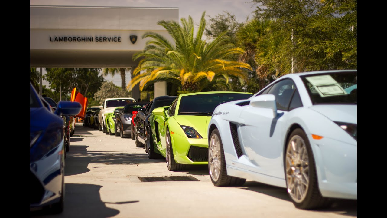 Lamborghini Palm Beach Exotic Car Show July Th YouTube - Palm beach car show
