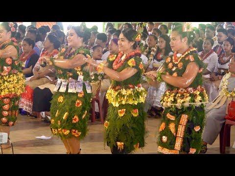 Tonga Tourism Students - Hiva 'o 'Ulukalala Lavaka Ata - Combine Awards Ceremony - TIHE & TIE