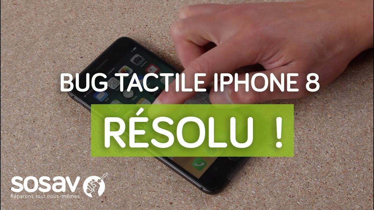 Bug Tactile Iphone 8 Resolu By Sosav Youtube