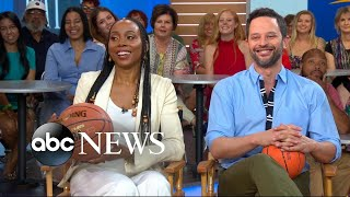 Nick Kroll, Erica Ash and Lil Rel Howery open up about 'Uncle Drew'