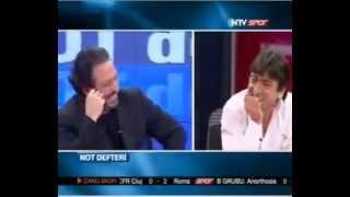Cem Yılmaz NTV SPOR Stand Up programına çevirmiş