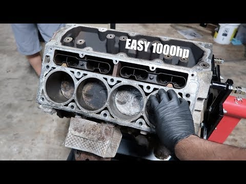 Building A 1000hp LS Engine!!! ITS SIMPLE!!!!