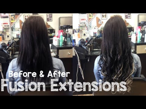Fusion hair extensions before after transformation instant fusion hair extensions before after transformation instant beauty pmusecretfo Choice Image