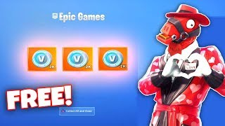 How To Get FREE V-Bucks In FORTNITE! (Season 7 Share The Love Event)