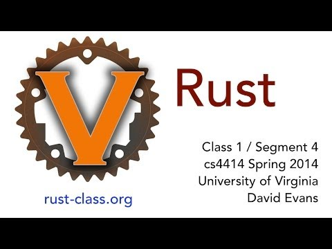 Introducing Rust