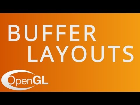 Buffer Layout Abstraction in OpenGL