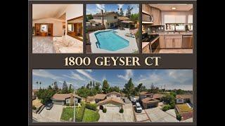 1800 Geyser Ct Antioch CA 94509 Just Listed