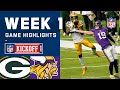 Packers vs. Vikings Week 1 Highlights | NFL 2020
