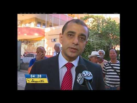 Jornal do SBT (03/05/16) Um dos principais hospitais públicos do Rio pode fechar as portas