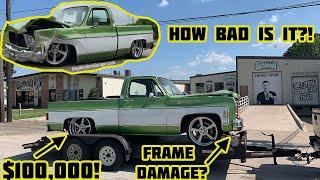 Rebuilding Gas Monkey Garage Wrecked 1976 Chevy C10