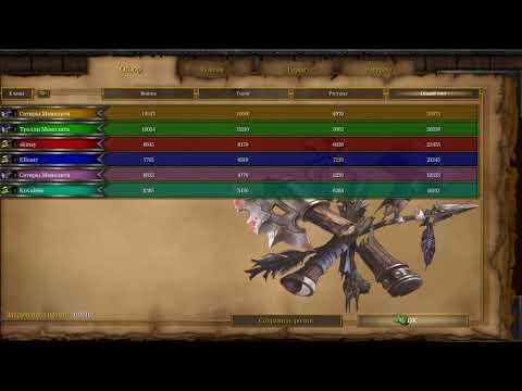 "WarCraft III Frozen Throne, карта ""Монолит"" втроем"