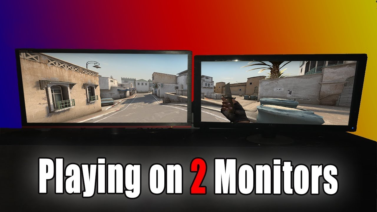 How to play games on multiple monitors