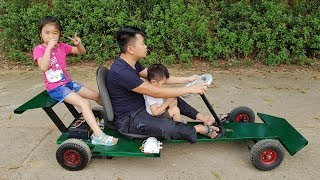 How to Make F1 Electric Car | DIY Go kart at Home