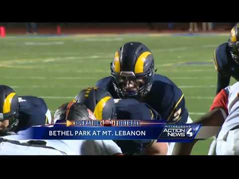 Operation Football: Bethel Park at Mt. Lebanon highlights