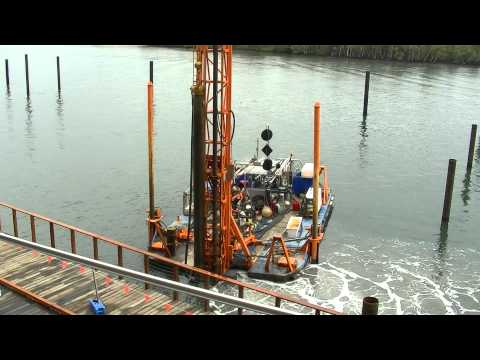 Pile Barge Installation