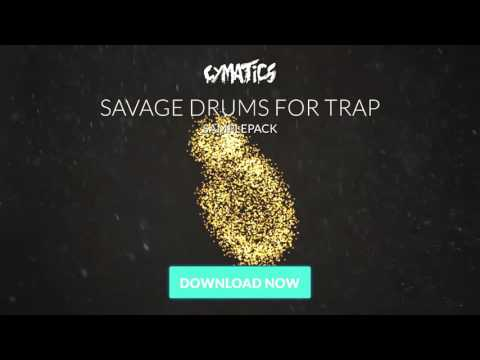 Cymatics - Savage Drums for Trap