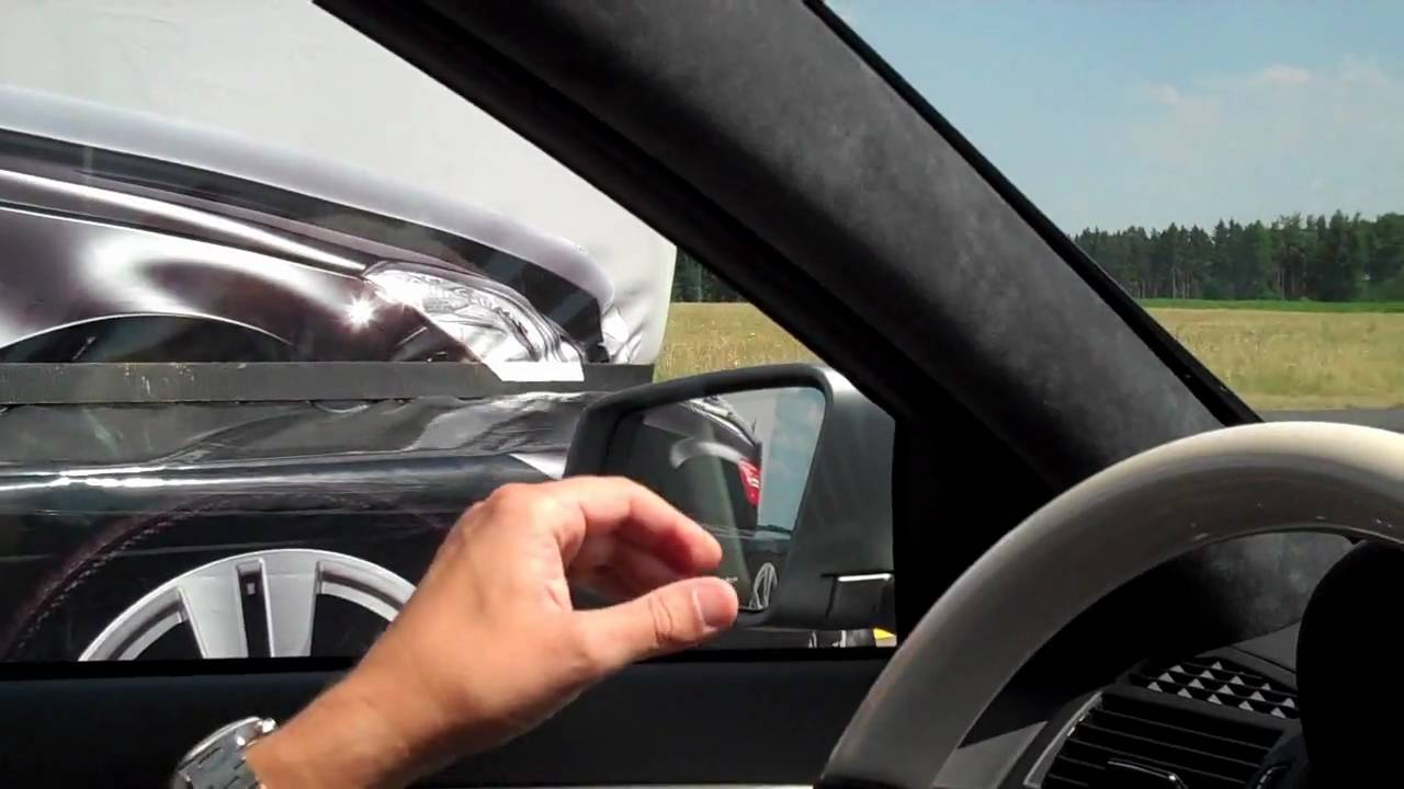 What is blind spot assist demonstration mercedes benz for Mercedes benz assist