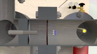 Linear Particle Accelerator Animation