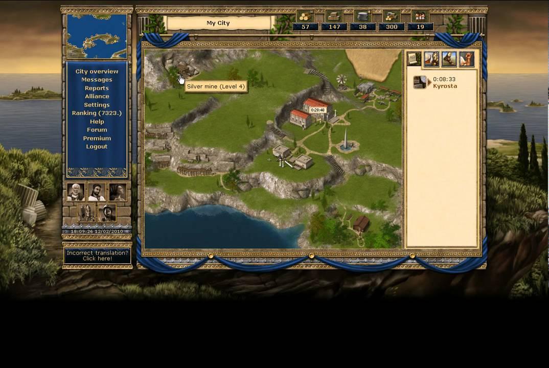 Grepolis Browser Game YouTube - Grepolis us maps