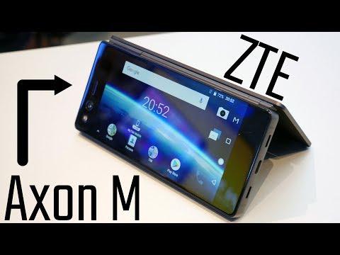 ZTE Axon M arriva in Italia. Ecco la video anteprima