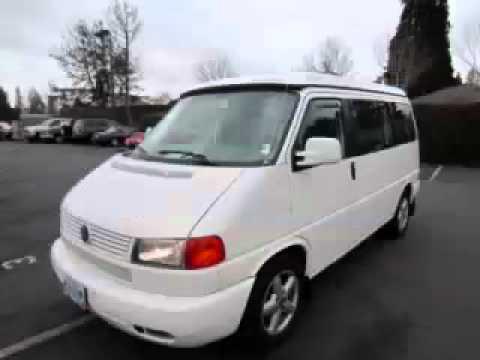 2002 Volkswagen EuroVan (Weekender Package) in Hillsboro OR